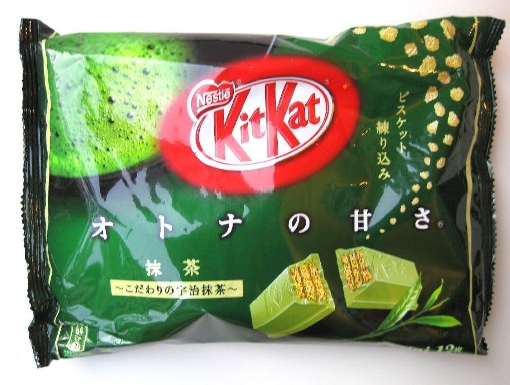kit kat thé vert au japon